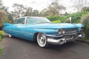 1959 Cadillac Coupe De Ville ** Right Hand Drive**
