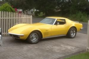 1971 Chevrolet Corvette Stingray. Full NSW rego. Sale or swap