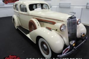 1936 Buick Century Runs Drives Body Vgood 320I8 3spd man