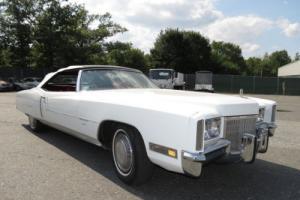 1971 Cadillac Eldorado Fleetwood Eldorado Convertible