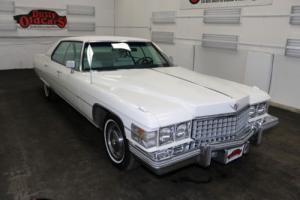 1974 Cadillac DeVille Runs Drives Body Int VGood 472V8 3spd auto