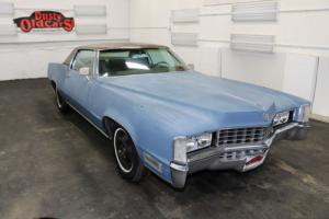 1968 Cadillac Eldorado Runs Drives Body Int Good 472V8 3spd auto