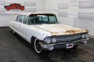 1961 Cadillac Fleetwood Runs Yard Drives 390V8 Body Int Fair Great Project