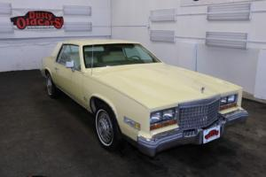 1980 Cadillac Eldorado Runs Drives Body Int Vgood 6L 3spd auto