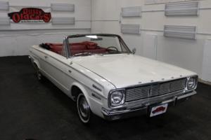 1966 Dodge Dart Runs Drives Body Int Good 273V8 3 spd auto Photo