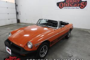 1977 MG MGB Conv Runs Drives Body Interior VGood Season Ready
