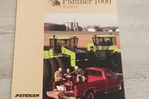 Steiger Panther 1000 Tractors Sales Brochure 1986
