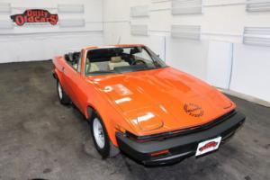 1979 Triumph TR7 2.0L I4 5 spd manual Body Inter Needs Work Photo