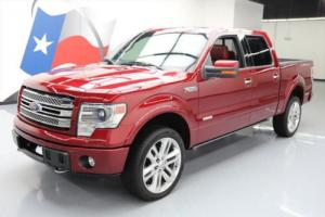 2013 Ford F-150 LTD CREW 4X4 SUNROOF ECOBOOST NAV