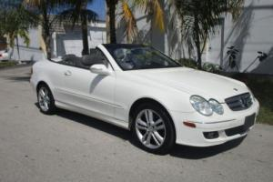 2006 Mercedes-Benz CLK-Class Convertible-Luxurious-Navi-Leather Heated Seats