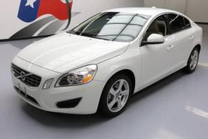 2012 Volvo S60 T5 SEDAN TURBO NAVIGATION ALLOYS