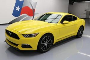 2016 Ford Mustang ECOBOOST AUTO REAR CAM 19'S