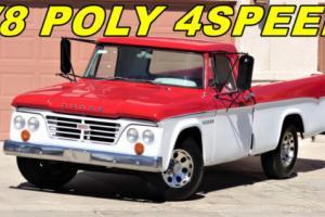 1964 Dodge Other Pickups D200 PICKUP, D100, HOT RODS, OTHER PICKUPS,