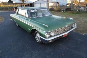 1962 Ford Galaxie 2 door club victoria