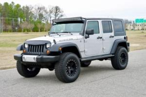 2008 Jeep Wrangler Lifted JK / Low Miles / 4 Door Rubicon / Carfax