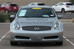 2005 Infiniti G35 2dr Coupe Automatic