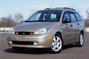 2002 Ford Focus ZTS Wagon Photo