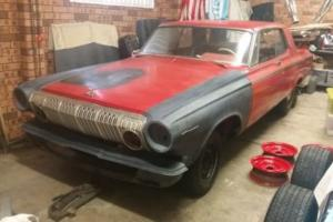 1963 Dodge Polara Factory 383hp 4 speed