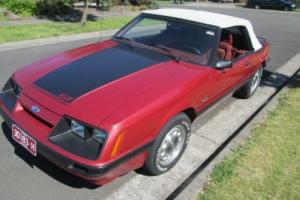 1986 GT Convertible Mustang   PRICE REDUCED