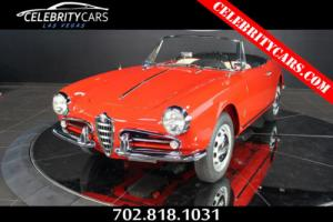 1960 Alfa Romeo Spider 750F LWB