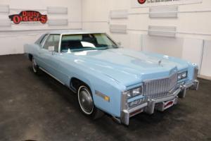 1975 Cadillac Eldorado Purchased by Elvis Presley for Myrna Smith Photo