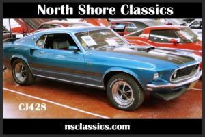 1969 Ford Mustang REAL DEAL 428 CJ-SHAKER HOOD-COBRA JET-4 SPEED-SEE