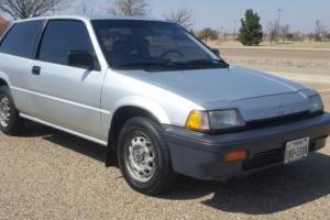 1986 Honda Civic Base