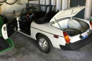 1980 MG MGB MGB Photo