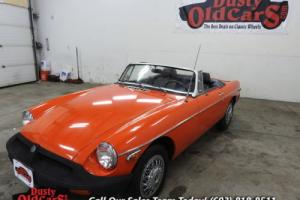 1980 MG MGB Runs Drives Body Inter Good 1.8LI4 4 Spd Photo