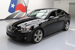 2012 Lexus IS VENT LEATHER SUNROOF NAV REAR CAM
