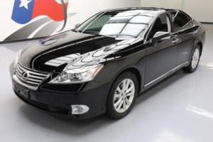 2012 Lexus ES CLIMATE SEATS SUNROOF NAV REAR CAM
