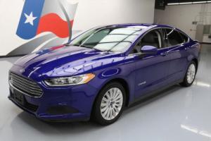 2015 Ford Fusion S HYBRID SEDAN REAR CAM ALLOYS