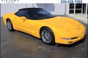 2003 Chevrolet Corvette Convertible Photo