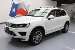 2016 Volkswagen Touareg VR6 LUX AWD PANO ROOF NAV
