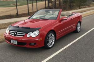 2008 Mercedes-Benz CLK-Class CLK Convertible Sports Package