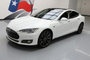 2014 Tesla Model S P85 TECH PANO ROOF NAV REAR CAM