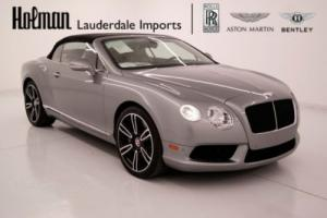 2014 Bentley Continental GT GTC V8 MULLINER Convertible