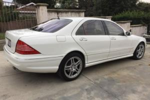 2005 Mercedes-Benz S-Class S500 4dr Sedan 5.0L Photo