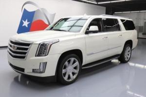 2015 Cadillac Escalade LUX 4X4 SUNROOF NAV DVD 22'S