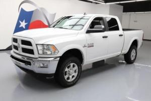2016 Dodge Ram 2500 HD OUTDOORSMAN CREW 4X4 DIESEL