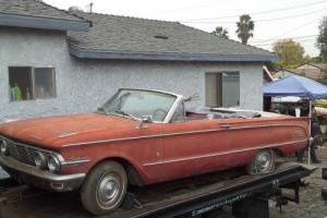 1963 FORD / MERCURY Comet C/V 260 V8 4 SPD Like Falcon XM XP XR XT XW XY Mustang