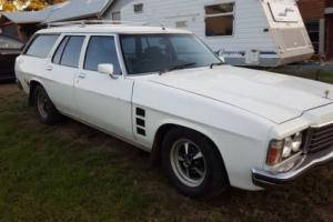 Holden HZ Stationwagon Kingswood factory V8 auto 5 seater HQ HJ HX WB GTS 308 Photo