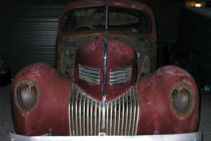1939 Chrysler Royal C22 Project Car, 383 B Block Chrysler and 727 Torqueflite