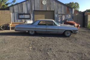 1964 chev impala 64 Sports Sedan Pillarless Patina No Rust Classic Low Rider 327