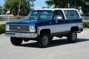 1980 Chevrolet Blazer SUPER STRAIGHT SOLID RUST FREE K5 4X4 BLAZER