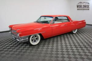 1964 Cadillac DeVille FIRE ENGINE RED CRUISE IN STYLE! 429V8.