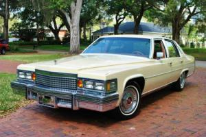 1979 Cadillac Fleetwood Brougham! Paul Harvey Collection! Fully Loaded!