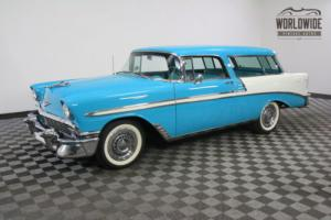 1956 Chevrolet Nomad ULTRA RARE FRAME OFF RESTORATION IMMACULATE!