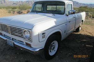 1973 International Harvester 1210 Pickup Camper Special