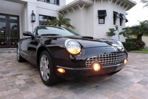 2002 Ford Thunderbird Deluxe with Hardtop